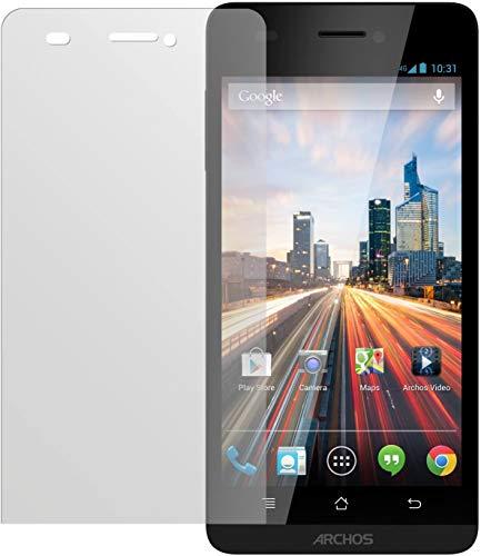 dipos I 2X Schutzfolie matt kompatibel mit Archos 50 Helium 4G Folie Bildschirmschutzfolie