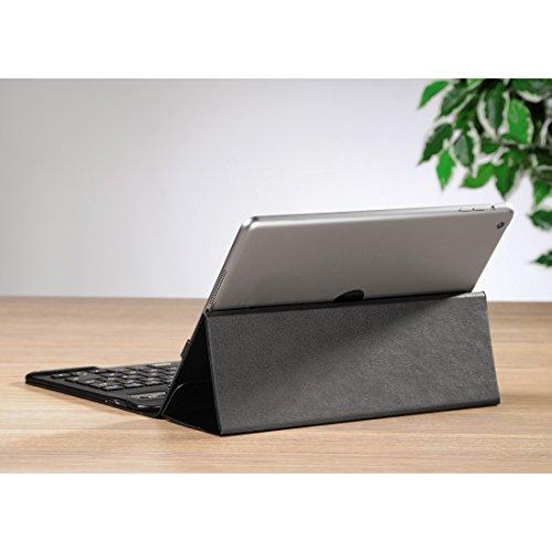Hama KEY2GO X3000 Bluetooth-Tastatur mit Tasche für Apple iPad Air/Air 2