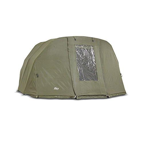 Lucx® Winterskin Überwurf Overwrap Skin für Tiger Bivvy für Angelzelt Karpfenzelt Carp Dome (Kein Zelt nur Überwurf)