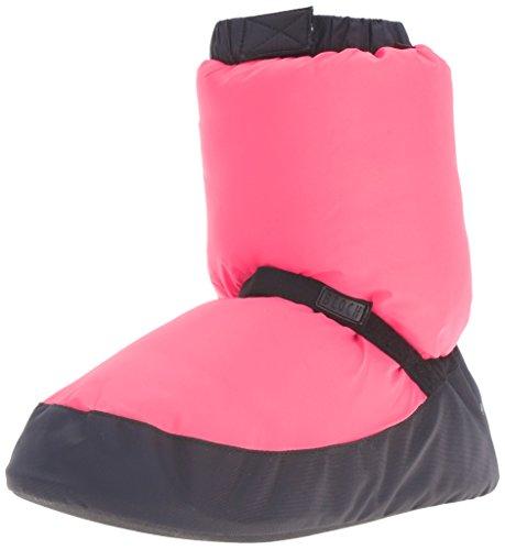 Bloch Women's Warm up Bootie Dance Shoe, Fluorescent Pink, Medium