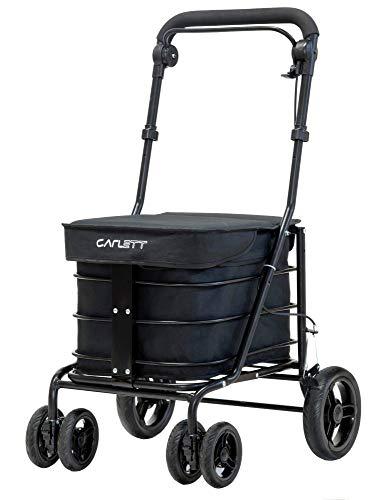 Carlett lett700Beauty Einkaufstrolley, schwarz