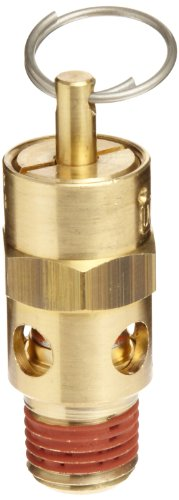 Control Devices ST Series Brass ASME Safety Valve, 200 psi Set Pressure, 1/4' Male NPT