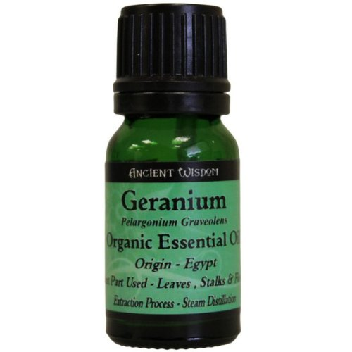 Huile essentielle bio géranium. 10 ml Huile Essentielle Bio Géranium. Un cadeau parfait – Idéal pour les anniversaires, Noël, etc.