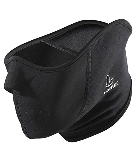 Löffler Gesichtsmaske, schwarz, 1
