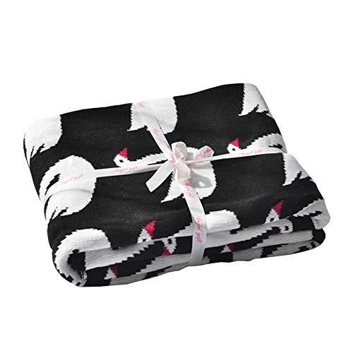 Pingrog gebreide knuffeldeken babydeken puckdeken katoen casual chic binnen buiten constante isolatie comfortabel zacht leuk patroon baby Mag