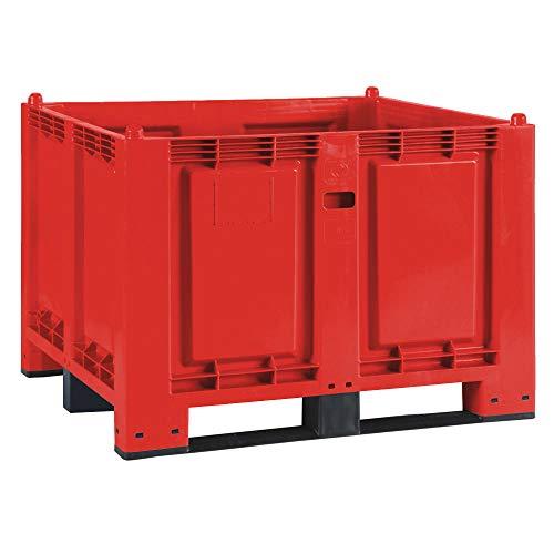 Palettenbox mit 3 Kufen, LxBxH...