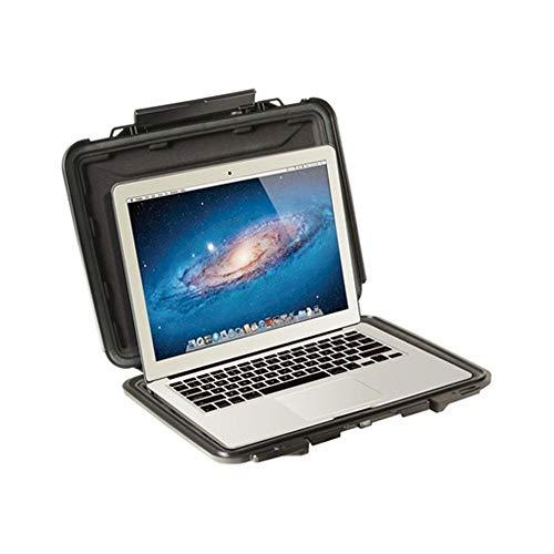 Huangwanru Sturm-Box Safety Protection Box Notebook 13 Zoll MacBook Schulter Computer-Box High Density Buffer Lining Werkzeug Organizer (Color : Black, Size : 38.8x30.4x4.1cm)