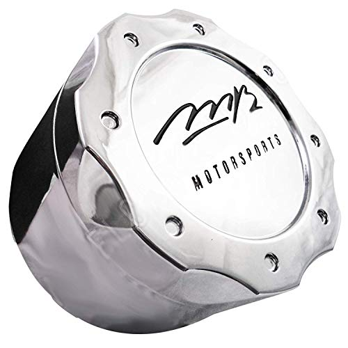 MB Motorsports Wheels Wheel TKO Rim Hub Cover Black Center 5x114.3 Cap C-358-1