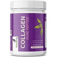 NutriZing Colágeno Hidrolizado en Polvo - Proteína sin Sabor de Ganado Alimentado con Pasto - Colágeno puro sin aditivos - Para Hombre y Mujer - Colágeno puro sin aditivos.