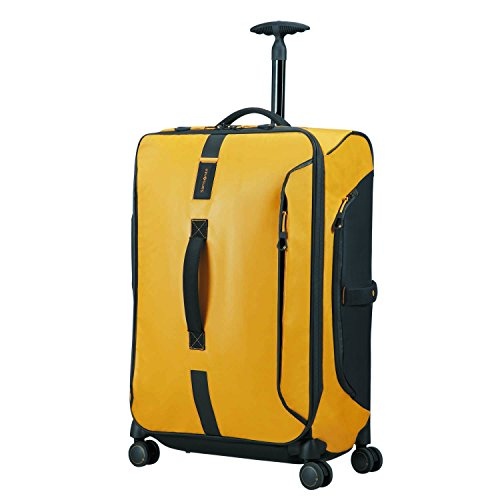 Samsonite Paradiver Light - Spinner Duffle Bag 67/24 Reisetasche, 67 cm, 80 L, Yellow