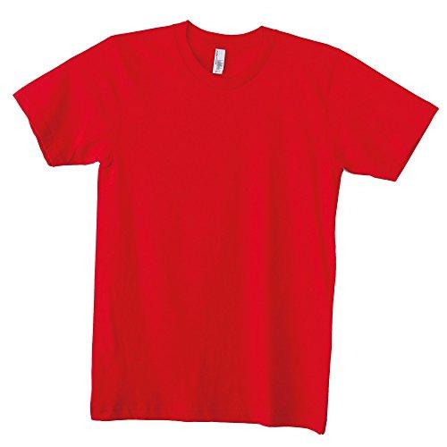 American Apparel T-Shirt, Unisex, kurzärmelig, Baumwolle, einfarbig Gr. XL, rot