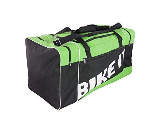 BIKE IT MOTOCROSS KIT BORSA 90L VERDE NERO