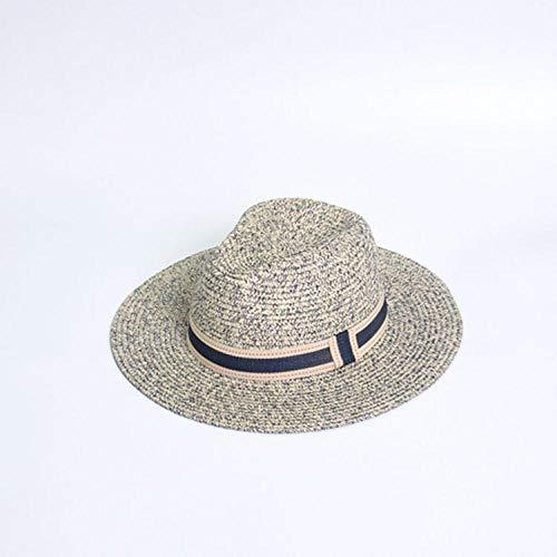 WNWZHWHR-Sun Hat Sombrero para el Sol Sombrero de Paja de Verano Sombrero de ala Ancha Sombrero para el Sol Sombrero para el Sol Sombrero de Playa para IR de Compras