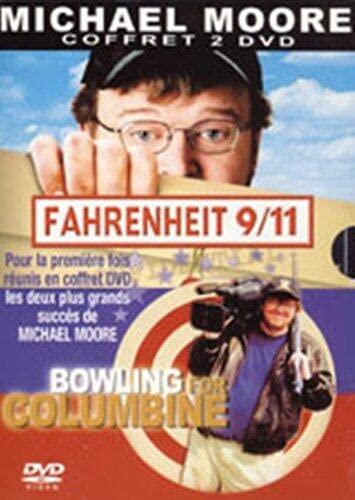 Coffret Michael Moore 2 DVD : Fahrenheit 9/11 / Bowling for Columbine [FR Import]