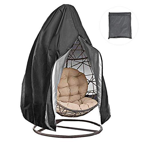 Protector de la cubierta de la silla colgante del columpio impermeable resistente al aire libre cubierta de la silla colgante del columpio al aire libre ligera Zfor muebles al aire libre a