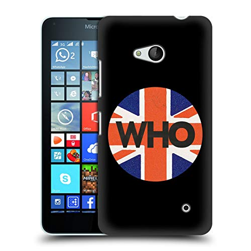 Head Case Designs Offizielle The Who UJ Kreis 2019 Album Harte Rueckseiten Huelle kompatibel mit Microsoft Lumia 640 / Dual SIM