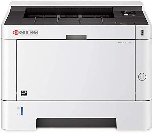 Kyocera Ecosys P2235dn/KL3 - Impresora láser con sistema de protección climática, unidad dúplex, 35 páginas por minuto con función de impresión móvil, Blanco y negro