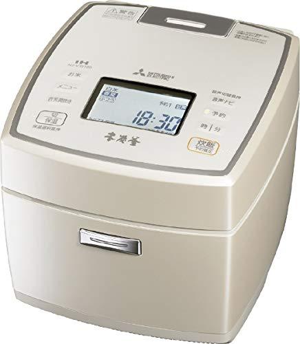 三菱 IHジャー炊飯器(5.5合炊き) 白和三盆MITSUBISHI 本炭釜 NJ-VW109-W