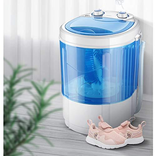 WYFDM – Zapato portátil para lavadora, tamaño pequeño, para lavar, zapatos, base UV, lavadora, color azul