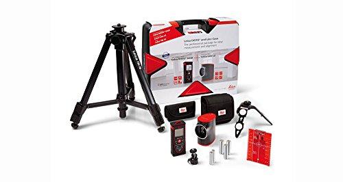 Leica 806656 Pack medidor Disto D210 (80 m) + Nivel láser Lino L2 (60 m) + Accesorios