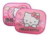 Hello Kitty Kaufmann Neuheiten HK-SAA-011 - Juego de 2 parasoles para Coche, diseño