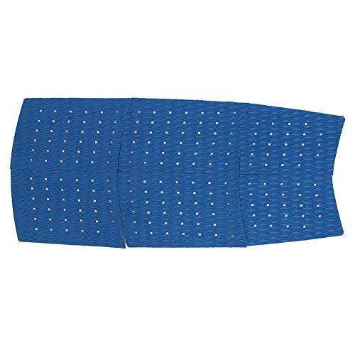 Changor Encantador Tracción Estera, 125 cm Eva Hecho Diamante Ranura Patrón Químicos Corrosión (Azul)