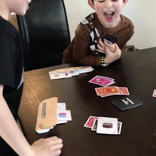 Taco vs Burrito - The Wildly Popular Surprisingly Strategic Card Game Created by a 7 Year Old - A Perfect Family-Friendly Party Game for Kids, Teens & Adults!