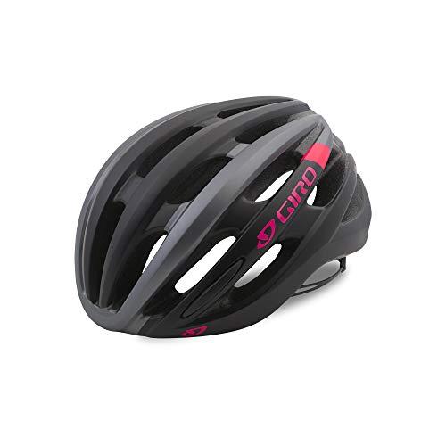 Giro Damen SAGA Fahrradhelm, mat Black pink, S