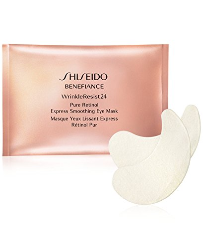 Shiseido Benefiance Wrinkleresist24 Pure Retinol Express Smoothing Eye Mask 12 packettes