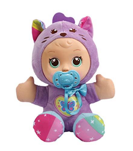 VTech - Little Love - Mijn Knuffelpop Kat - Inclusief fopspeen - Educatief Babyspeelgoed - Stevig en duurzaam design - Leeftijd: 1 - 6 jaar