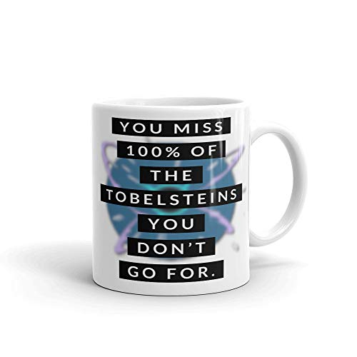 dise/ño con texto en ingl/ésYou Miss 100 of The Tobelsteins You Dont Go for Taza de caf/é Overwatch Zarya