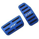 LZLWL Combustible Embrague Pedales 2pcs / Set en el Coche de Pedales para Honda Fit Jazz 2011-2020 reemplazo de Piezas del Pedal de Freno Accesorios Auto Gas Cubierta del Protector (Color : Azul)