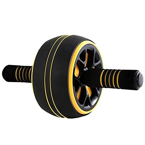 Home Gyms Bauch Roller Bauchmuskeln Kern Übung Multifunktionale Body Fitness Krafttraining Anti-Rutsch-Textur Doppelrolle verdickte Knie-Auflage Krafttraining Gerät (Size : M)