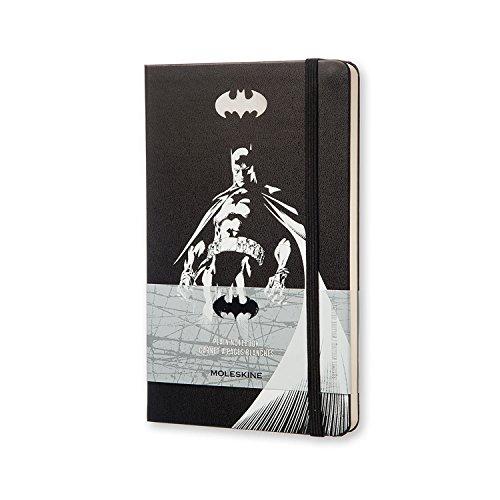 Moleskine Taccuino Batman Edizione Mantellina, Large, Nero