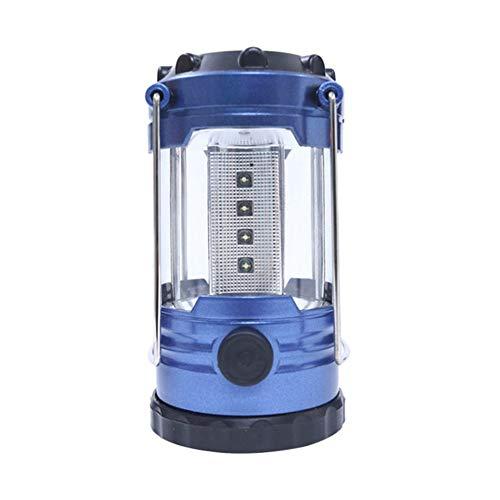 Tent Lamp, 12LED Draagbare Kamp Lantaarn Lichten Noodverlichting Buitenverlichting in De Batterij Moet Naar Blauw