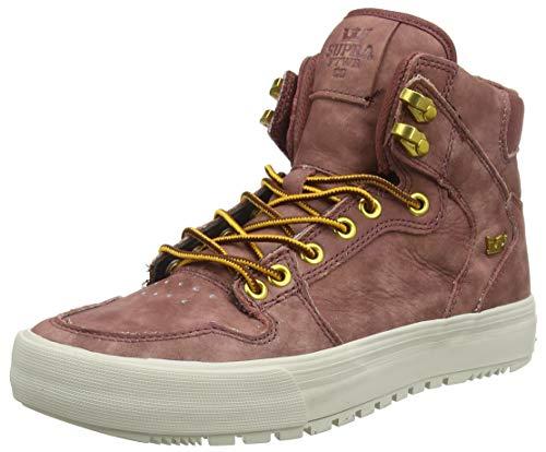 Supra Vaider CW, Sneaker a Collo Alto Uomo, Marrone (Chestnut-Bone 230), 43 EU