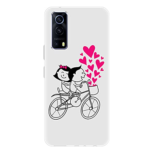 Nainz Soft Silicon Slimfit Back Cover for iQOO Z3 5G Stylish Printed...