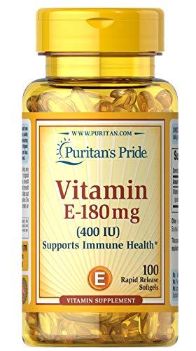 Puritan's Pride Vitamin E-400 IU 100 softgels