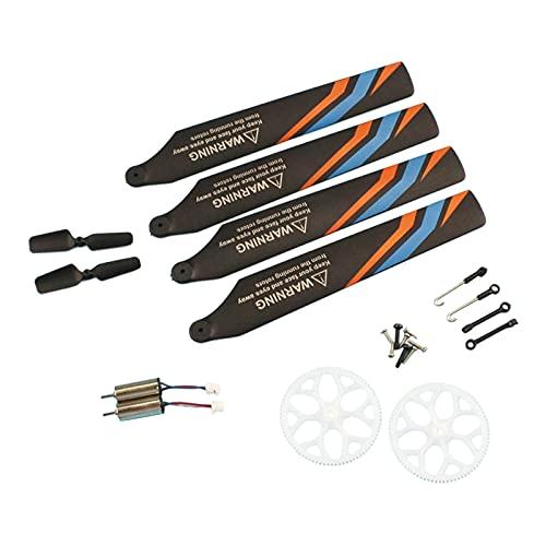 Amagogo Kit di Accessori di Ricambio per Elicotteri RC Professionali Durevoli E Pratici per Parti di Modifica WLToys XK K127