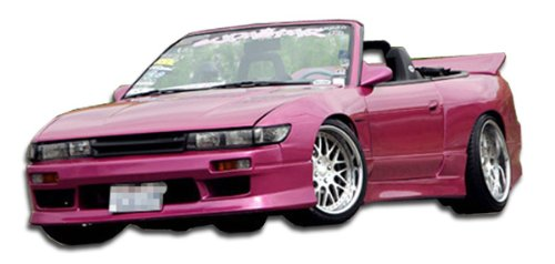 Brightt Duraflex ED-RLF-645 Silvia S13 Conversion V-Speed Kit - 4 Piece Body Kit - Compatible With 240SX 1989-1994