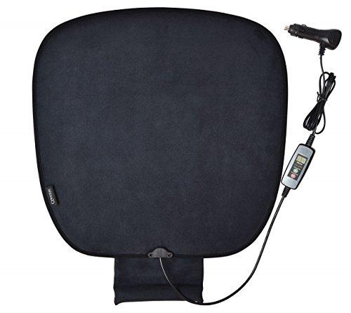 クラッツィオ ヒータークッション 温度調整機能 デジタル表示 1枚入り 12V車用 シガーソケット簡単装着 取扱説明書付き Clazzio 09E0066K