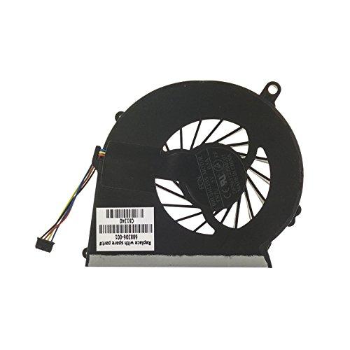 HP 686259–001Módulo térmico de componente Ordenador Portatil adicionales–Ordenador portatil Componentes adicionales (Módulo térmica, Negro, Cobre, Metálico, Compaq 650)