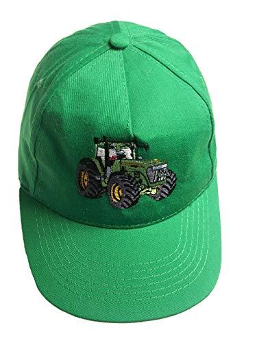 Zintgraf Jungen Cap Baseball Kappe Traktor Stickerei Grüner Trecker (grün)