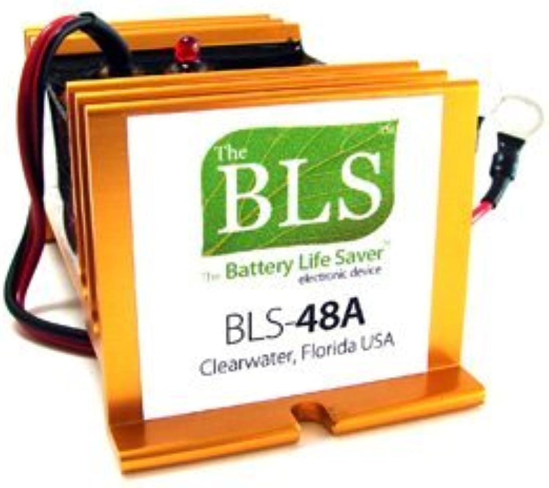 Battery Life Saver BLS48A 48v Battery System Desulfator Rejuvenator by Battery Life Saver