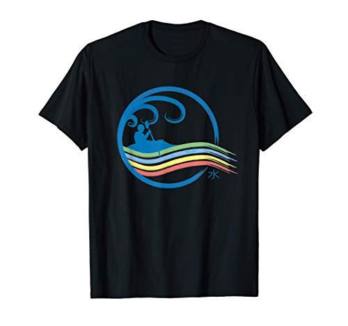 Kanu, Kajak, Kanadier & Paddeln von River Apparel, Elemente T-Shirt