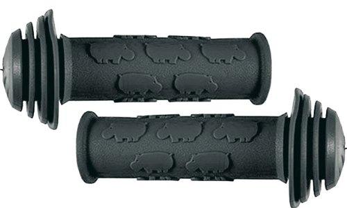 Lenkergriff Hippos schwarz - 1 Paar