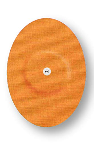 FixTape atmungsaktives Sensor-Tape für Freestyle Libre 1 & 2 I selbstklebendes Patch für Glukose-Sensor mit hohem Trage-Komfort I hautfreundlich und wasserfest in modernen Designs I 7 Stück (Beige)