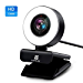 PC Webcam for Streaming HD 1080P, Vitade 960A USB Pro Computer Web Camera Video Cam for Mac Windows Laptop Conferencing Gaming Xbox Skype OBS Twitch Youtube Xsplit GoReact with Microphone & Ring Light (Renewed)