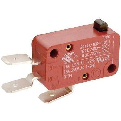 Unbekannt Marquardt Mikroschalter 01005.1010-01 250 V/AC 16 A 1 x EIN/(EIN) tastend 1 St.