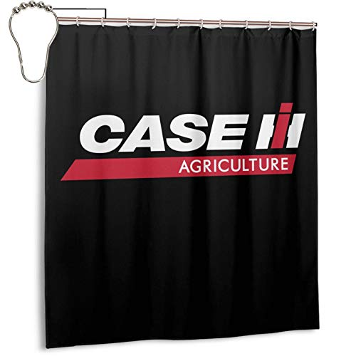 Tifus Dress Funny Case Ih International Harvester Curtain 66x72 Inch with 12 Hooks Waterproof Fabric Shower Curtain for Bathroom